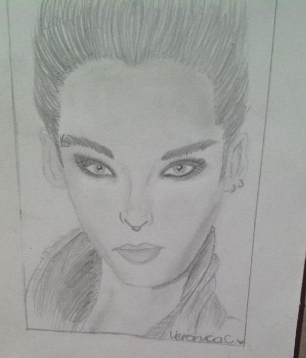 Bill Kaulitz por Veroniica009
